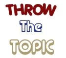 throw the topic (logo)