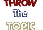 throw the topic (logo)