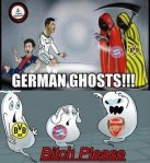 Gunners scaring germans cartoon