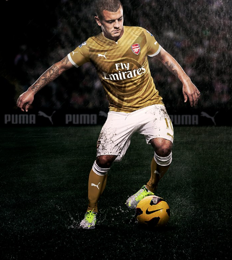 arsenal puma away kit