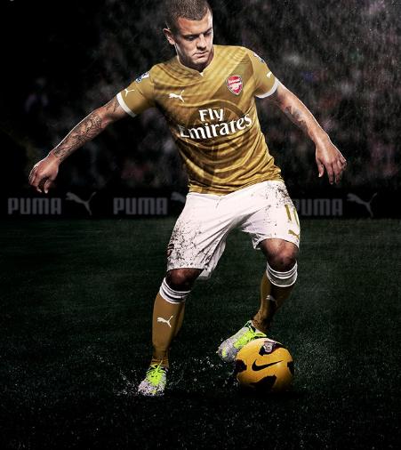 Arsenal agree £170m kit deal with Puma Arsenal-puma-away-kit