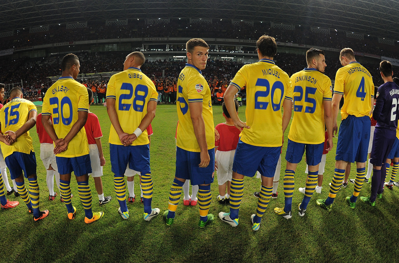 Arsenal Kicked Off Their Pre Season Asia Tour With Thrashing