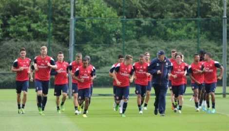 gunners training