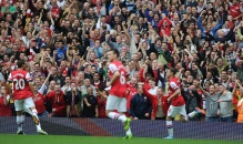 gunners win over stoke