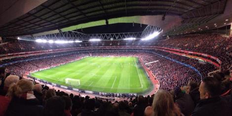 emirates fans watch