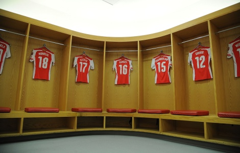 puma arse dressing room