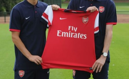signing for arsenal