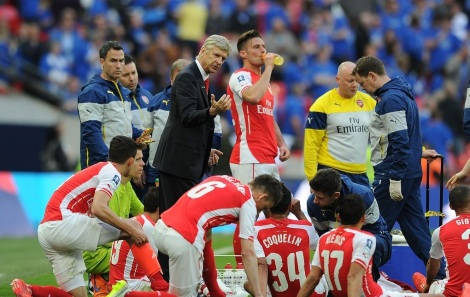 players-and-wenger